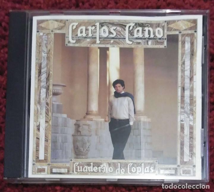 CARLOS CANO (CUADERNO DE COPLAS) CD 1987 (Música - CD's Flamenco, Canción española y Cuplé)