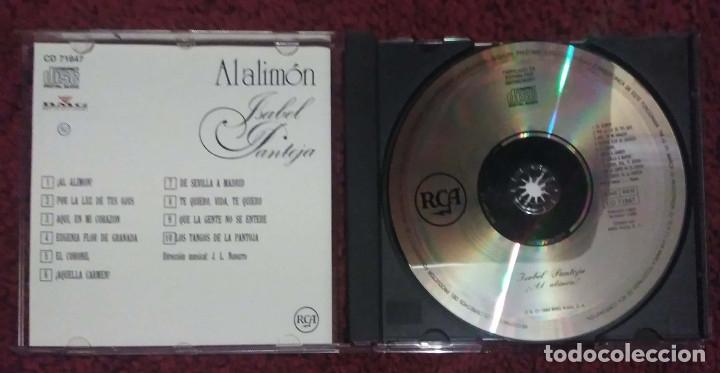 CDs de Música: ISABEL PANTOJA (AL ALIMON) CD 1988 - Foto 3 - 182673580