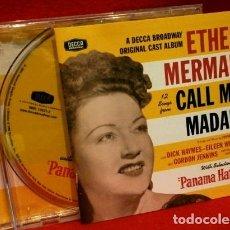 CDs de Música: ETHEL MERMAN - 12 SONGS FROM CALL ME MADAM - MUSIC BY IRVING BERLIN -BROADWAY ORIGINAL CAST- DIFICIL. Lote 182686575