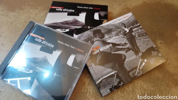 CDs de Música: Romano, Sclavis, Texier,Le Querrec–Carnet De Routes - Suite Africaine . CD + libro. Nuevo. - Foto 2 - 182690453