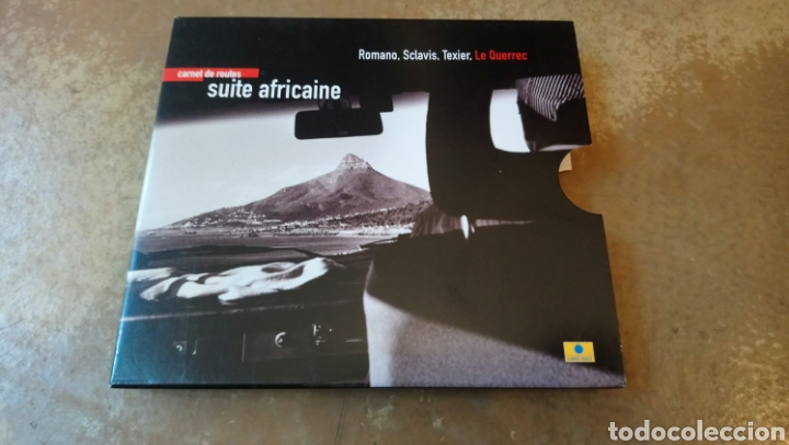 ROMANO, SCLAVIS, TEXIER,LE QUERREC–CARNET DE ROUTES - SUITE AFRICAINE . CD + LIBRO. NUEVO. (Música - CD's Jazz, Blues, Soul y Gospel)
