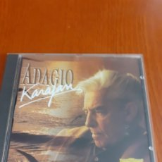 CDs de Música: CD ADAGIO VON KARAJAN FILARMONICA DE BERLIN. Lote 182691247