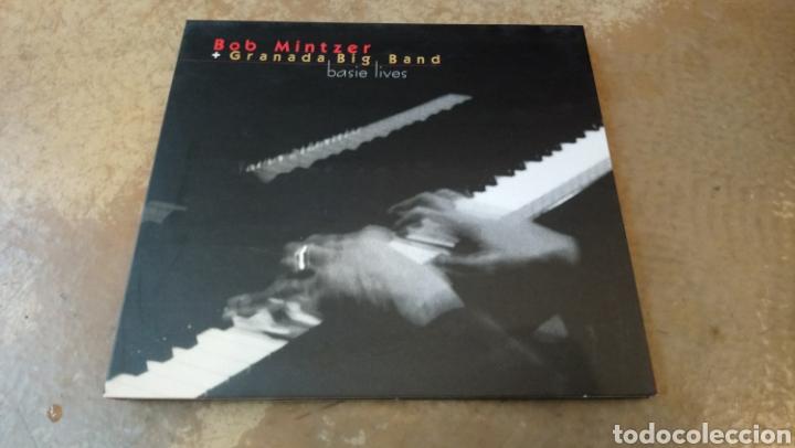 BOB MINTZER + GRANADA BIG BAND. BASIE LIVES. CD DIGIPACK BUEN ESTADO. JAZZ (Música - CD's Jazz, Blues, Soul y Gospel)
