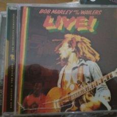 CDs de Música: BOB MARLEY LIVE CD. Lote 182720103