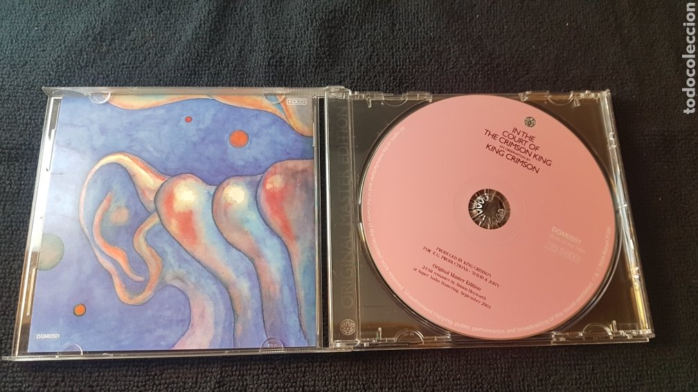 CDs de Música: King crimson....In The Court Of The Crimson King - An Observation By King Crimson - Foto 2 - 182721993