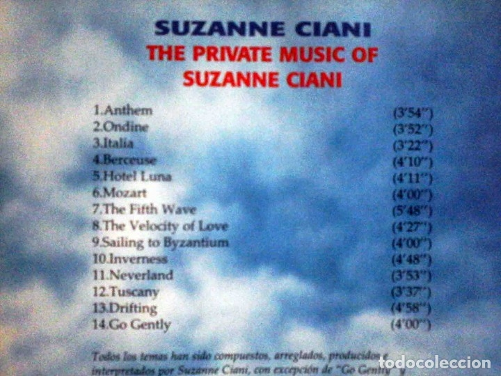 CDs de Música: CD The Private Music of Suzanne Ciani - Las nuevas músicas - Foto 2 - 182726820