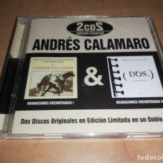 CDs de Música: ANDRÉS CALAMARO 2 CD 2006- LOS RODRIGUEZ-BUNBURY-ARIEL ROT-FITO PAEZ (COMPRA MINIMA 15 EUR). Lote 182735708