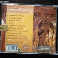 CDs de Música: CD SEMANA SANTA ABEL MORENO , HIMNO VIRGEN MACARENA . INMEMORIAL DEL REY N 1 MUSICA DEL REGIMIENTO. Lote 182754622