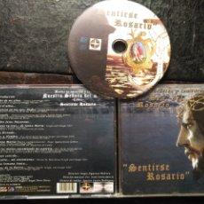 CDs de Música: CD SEMANA SANTA SEVILLA BANDA DE CORNETAS Y TAMBORES VIRGEN DEL ROSARIO SENTIRSE ROSARIO. Lote 182755550