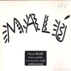 CDs de Música: MALU - DONDE QUIERA QUE ESTES CD SINGLE 1 TEMA PROMO 1998. Lote 220835900