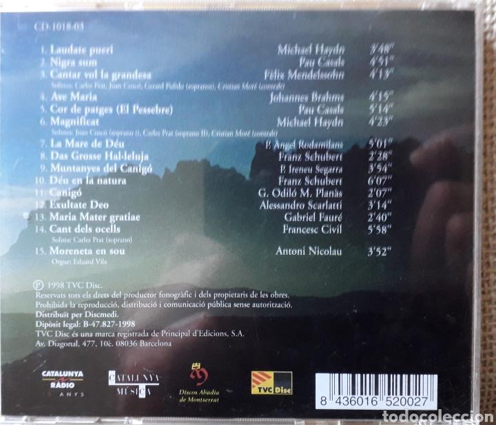 CDs de Música: CD ESCOLANIA CANTA - ESCOLANIA DE MONTSERRAT BARCELONA - DIR. JORDI-AGUSTI PIQUE - 1998 - Foto 3 - 182757093