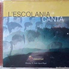 CDs de Música: CD ESCOLANIA CANTA - ESCOLANIA DE MONTSERRAT BARCELONA - DIR. JORDI-AGUSTI PIQUE - 1998. Lote 182757093
