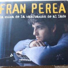 CDs de Música: FRAN PEREA - LA CHICA DE LA HABITACION DE AL LADO - CD + DVD + LIBRETO - 2004. Lote 182757770