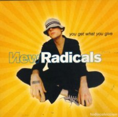 CDs de Música: NEW RADICALS - YOU GET WHAT YOU GIVE CD SINGLE PROMO 1999. Lote 182762227