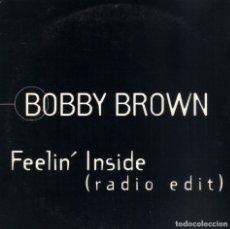 CDs de Música: BOBBY BROWN - FEELIN' INSIDE RADIO EDIT CD SINGLE 1 TEMA PROMO 1997. Lote 182762330