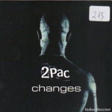CDs de Música: 2 PAC - CHANGES CD SINGLE 1 TEMA PROMO 1998. Lote 182762373