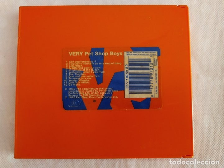 CDs de Música: Pet Shop Boys ‎– Very - Foto 2 - 182765416