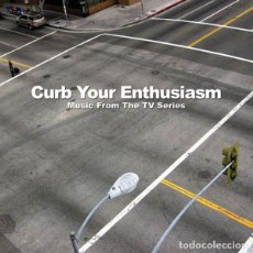 CDs de Música: CURB YOUR ENTHUSIASM (MUSIC FROM THE TV SERIES) - NUEVO Y PRECINTADO. Lote 182766921