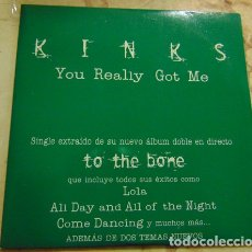 CDs de Música: THE KINKS – YOU REALLY GOT ME (LIVE) - CDSINGLE PROMO. Lote 182775586