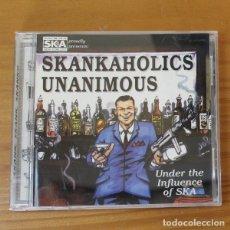 CDs de Música: SKANKAHOLICS UNANIMOUS -CD- VARIOS SKA BAD MANNERS, LAUREL AITKEN, THE BUSTERS, ARSENALS.... Lote 182775820