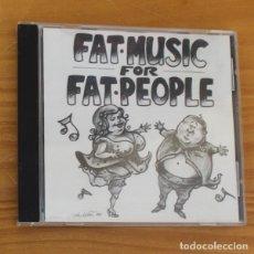 CDs de Música: FAT MUSIC FOR FAT PEOPLE -CD- VARIOS PUNK LAGWAGON, TILT, GOOD RIDANCE, NOFX, RANCID, 88 FINGERS LOU. Lote 182775856