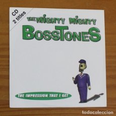 CDs de Música: THE MIGHTY MIGHTY BOSSTONES -CD SINGLE FUNDA CARTON- THE IMPRESSION THAT I GET. Lote 182775956