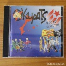 CDs de Música: OKUPATS -CD- PERO NO VENÇUTS, ROCK CATALA. Lote 182776011