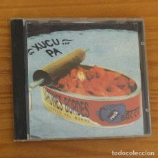 CDs de Música: XUCU PA -CD- SARDINES BORDES, ROCK CATALA OLOT. Lote 182776031