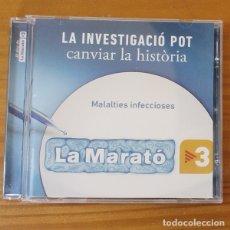 CDs de Música: EL DISC DE LA MARATO 17 -CD- PASTORA SOLER, BLAUMUT, LOVE OF LESBIAN, INDIA MARTINEZ, CHAMBAO.... Lote 182776138