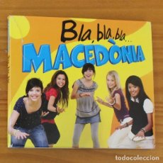 CDs de Música: MACEDONIA -CD DIGIPACK- BLA BLA BLA, ROCK CATALA. Lote 182776232