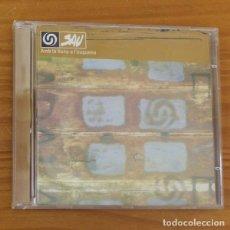 CDs de Música: SAU -CD- AMB LA LLUNA A L'ESQUENA, ROCK CATALA. Lote 182776338