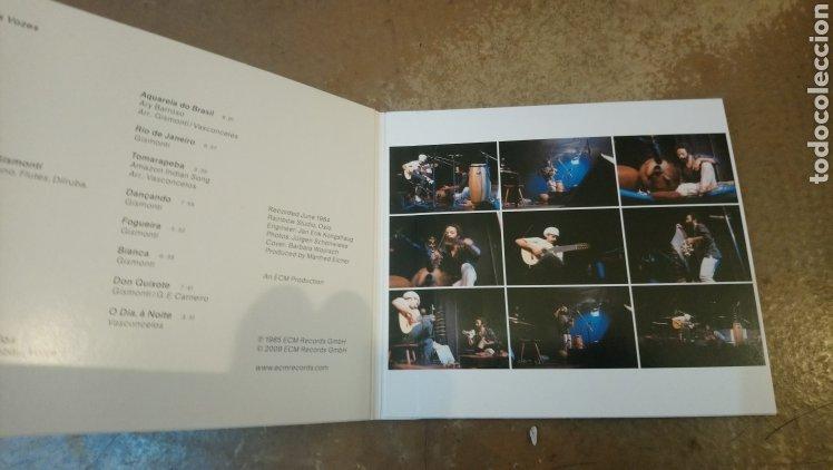 CDs de Música: Egberto Gismonti/Naná Vasconcelos–Duas Vozes . CD digipack perfecto estado - Foto 3 - 182777622