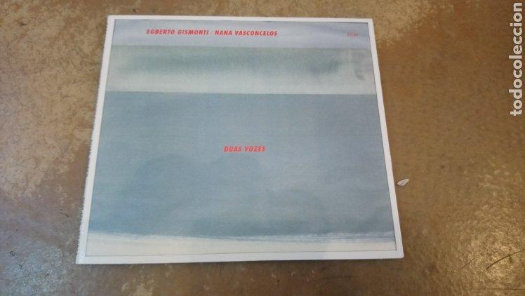 CDs de Música: Egberto Gismonti/Naná Vasconcelos–Duas Vozes . CD digipack perfecto estado - Foto 2 - 182777622