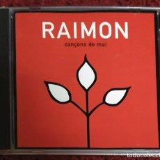 CDs de Música: RAIMON (CANÇONS DE MAI) CD 1997. Lote 182781990
