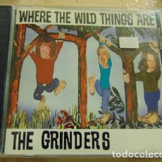 CDs de Música: THE GRINDERS - WHERE THE WILD THINGS ARE - CD - GARAGE. Lote 182783586
