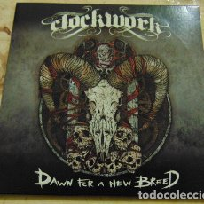 CDs de Música: CLOCKWORK – DAWN FOR A NEW BREED CD EP PROMO. Lote 182783801