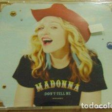 CDs de Música: MADONNA – DON'T TELL ME - CDSINGLE. Lote 182784697