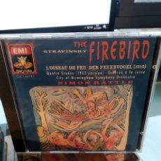 CDs de Música: STRAVINSKY - THE FIREBIRD. Lote 182822346