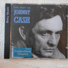 CDs de Música: THE BEST OF JOHNNY CASH. COMPACTO CON 14 CANCIONES.. Lote 182839662