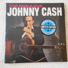 CDs de Música: THE FABULOUS JOHNNY CASH. COMPACTO CON 29 CANCIONES. ESTUCHE FINO DE CARTON.. Lote 182839987