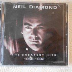 CDs de Música: NIEL DIAMOND. THE GREATEST HITS 1966 - 1992. DOBLE COMPACTO CON 36 CANCIONES.. Lote 182840433