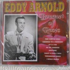 CDs de Música: EDDY ARNOLD. BOUQUET OF ROSES. COMPACTO NUEVO A ESTRENAR CON 24 CANCIONES.. Lote 182842428