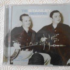 CDs de Música: THE STANLEY BROTHERS. SWEETEST LOVE. COMPACTO NUEVO A ESTRENAR CON 25 CANCIONES.. Lote 182842576