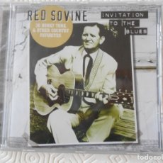 CDs de Música: RED SOVINE. INVITATION TO THE BLUES. 30 HONKY TONK & OTHER COUNTRY FAVORITES. COMPACTO NUEVO A ESTRE. Lote 182842901