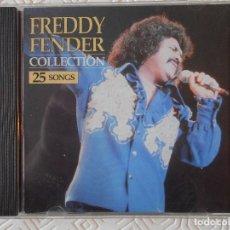 CDs de Música: FREDDY FENDER COLLECTION. 25 SONGS. COMPACTO.. Lote 182843290