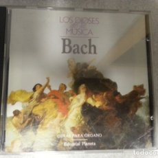 CDs de Música: BACH. OBRAS PARA ÓRGANO. . Lote 182848940