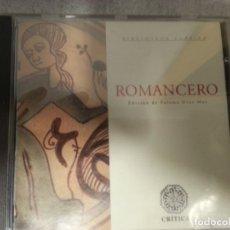 CDs de Música: ROMANCERO. . Lote 182850202