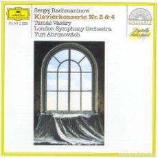 CDs de Música: PROKOFIEV, SERGEI / CONCIERTOS PARA PIANO 2 Y 4 / VASARY, AHRONOVITCH, LONDON SYMPHONY ORCHESTRA. Lote 182886526