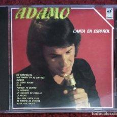 CDs de Música: ADAMO (ADAMO EN ESPAÑOL) CD 1990. Lote 182889792