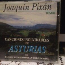 CDs de Música: CD JOAQUIN PIXAN - CANCIONES INOLVIDABLES DE ASTURIAS - CON LA ORQUESTA DE RTVE ASTURIAS. Lote 182902652